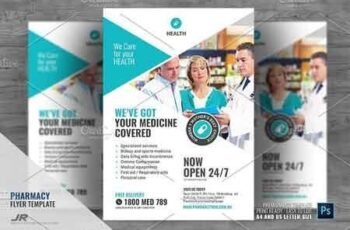 Pharmaceutical Store Flyer 2945869 2