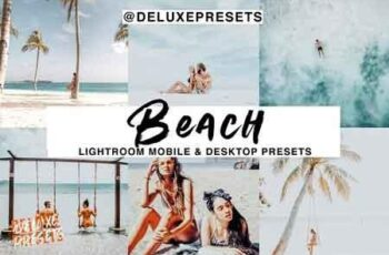 Beach Lightroom Mobile Desk Preset 2965964 7