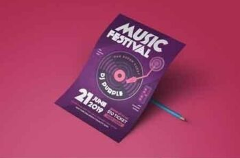 Music Electro Flyer 8