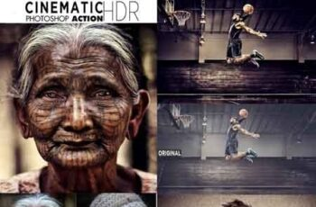 Cinematic HDR Photoshop Action 22614377 15