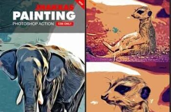 Jhakkas Painting Photoshop Action 22637876 7