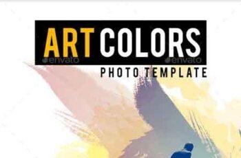 Art Colors Photo Template 22612788 5
