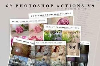 50+ Favorite Photoshop Actions for Photo Effects 6