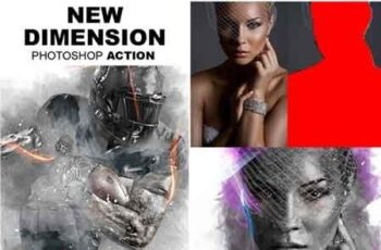 New Dimension Photoshop Action 17939100 5
