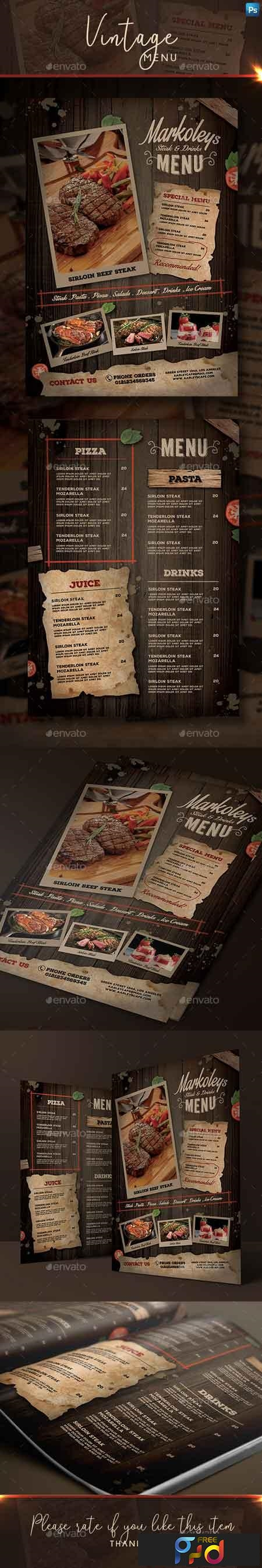 Rustic Cafe Menu 22651513 1
