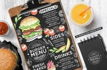 Burger Menu Template 3018873 14