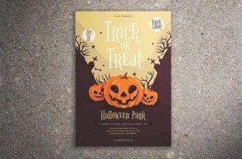 Trick or Treat Halloween Flyer 3002910 3