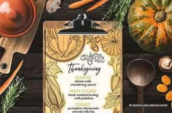 Thanksgiving Food Menu 2981889 5