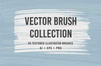 55 Vector Brushes Collection 2886464 6