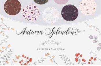 Autumn Splendour Patterns 2858445 6