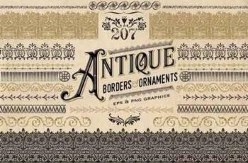 Antique Borders and Ornaments 1580151 5