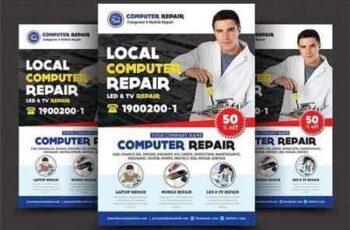 Computer & Mobile Repair Flyer 2859973 2