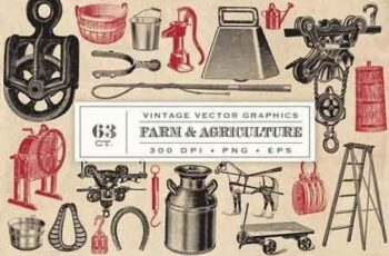 Farm & Agriculture Vector Graphics 1286117 4
