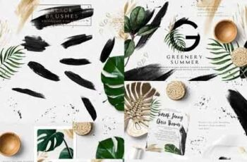 Greenery Summer Design Set 2851553 4