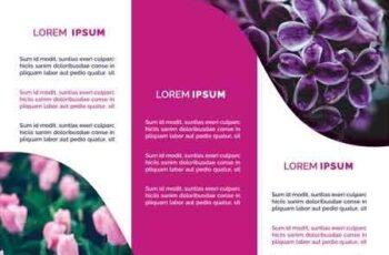 Flower Shop Trifold Brochures 3025244 5