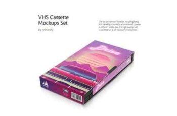 VHS Cassette Mockups Set 3048340 3