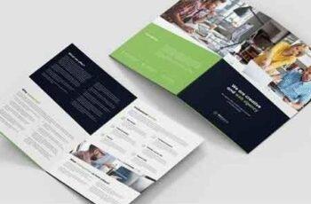 Brochure – Web Agency Bi-Fold A4 US 4