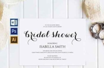 Bridal Shower Invitation Wpc 130 1550425 3