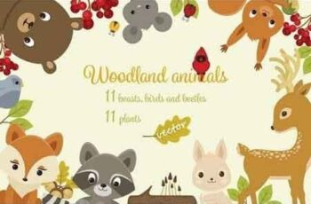 Woodland Animals Set 1168961 3