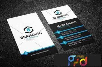 Modern Business Card Template 214101 6