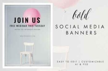 Social Media Banner - Bold 646173 7