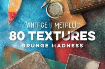 80 Vintage & Metallic Textures 2867456 7