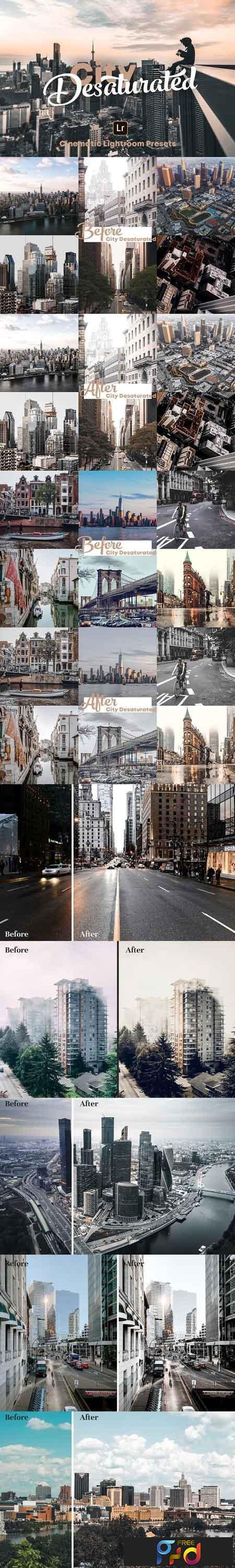 City Desaturated - Lightroom Presets 3064984 1