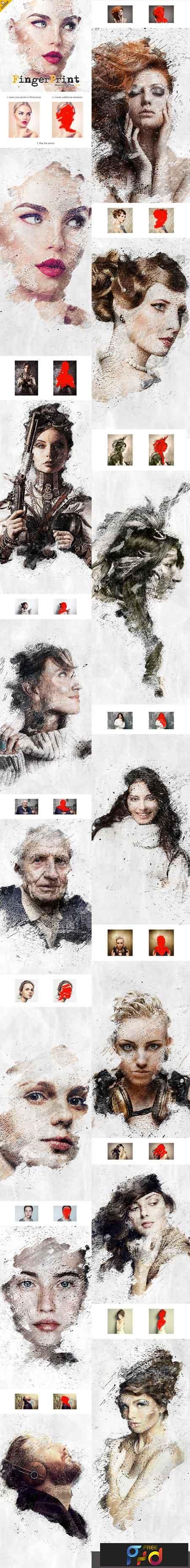 Fingerprint CS4+ Photoshop Action 22647490 1