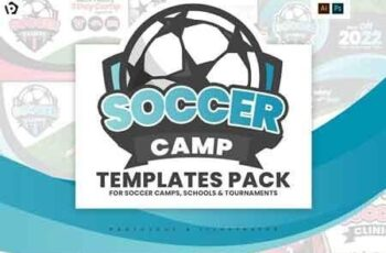 Soccer Camp Templates Pack 2965867 3