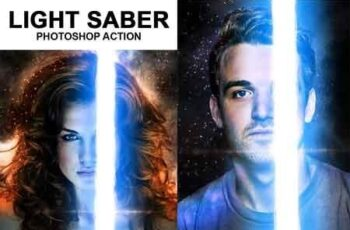Light Saber Photoshop Action 18542969 4