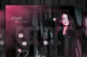 Ladies Night Flyer Template 22654870 7
