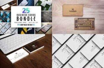 25 Business Cards Bundle - Vol 01 2991092 6