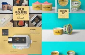 40 Food Packaging Mockups Bundle 2984536 8