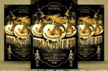 Halloween Party Flyer 3055502 2