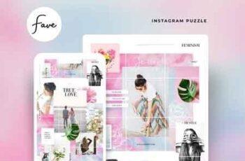 Instagram Puzzle - Fave 3060064 3