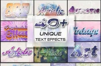 40+ Unique Text Effects To Trendify 3062797 5