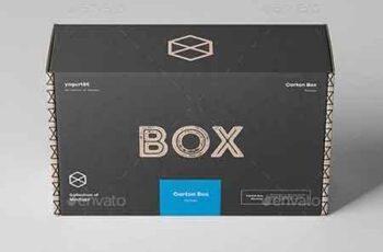 Carton Box Mockup 23x14x8 22704365 7