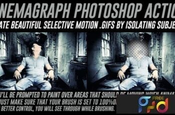 Cinemagraph Photoshop Action with Color Adjustment 15210812 6