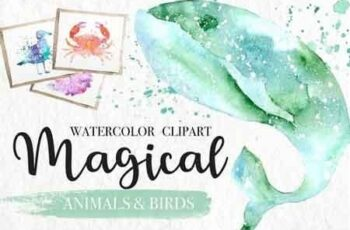 Watercolor Magical Animals 2671254 7