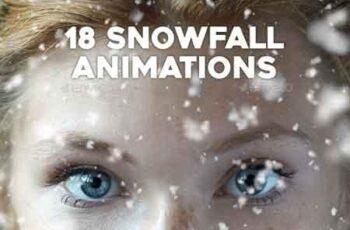 18 Gif Animated Snow Photoshop 22648458 4