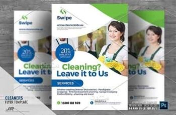 Cleaning Company Services Flyer 2945756 4