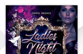 Ladies Night Flyer Template 22660846 4