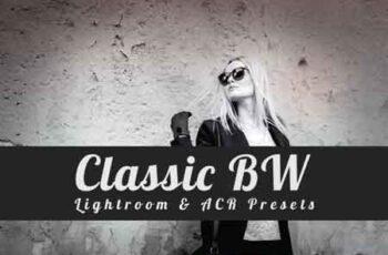 Classic B&W Lightroom Presets 3500194 7