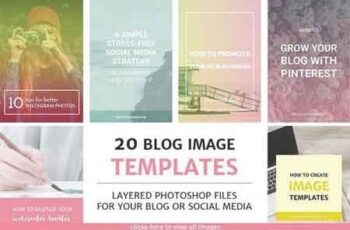20 Blog Post and Instagram Templates 575749 4