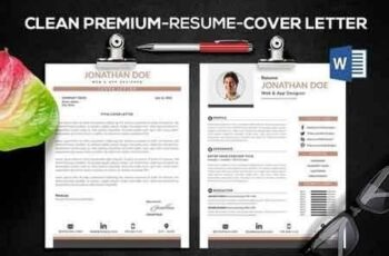 Clean Elegant Resume 2316823 6