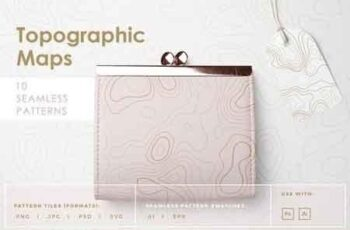 Topographic Maps Patterns 2663525 7