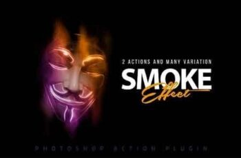 Smoke Effect Photoshop Action 2897739 5
