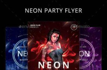 Neon Flyer 22588597 8