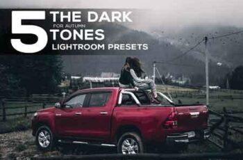 5 Dark tones presets for Lightroom 2880601 6
