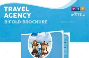 Travel Agency Bifold Halffold Brochure 5 22655582 5